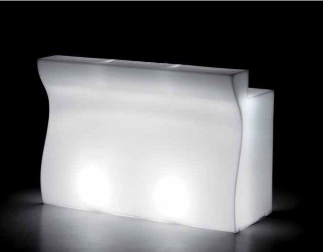 Bartheken-Element mit Beleuchtung