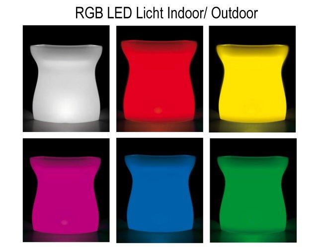 RGB LED Farben für Indoor und Outdoor