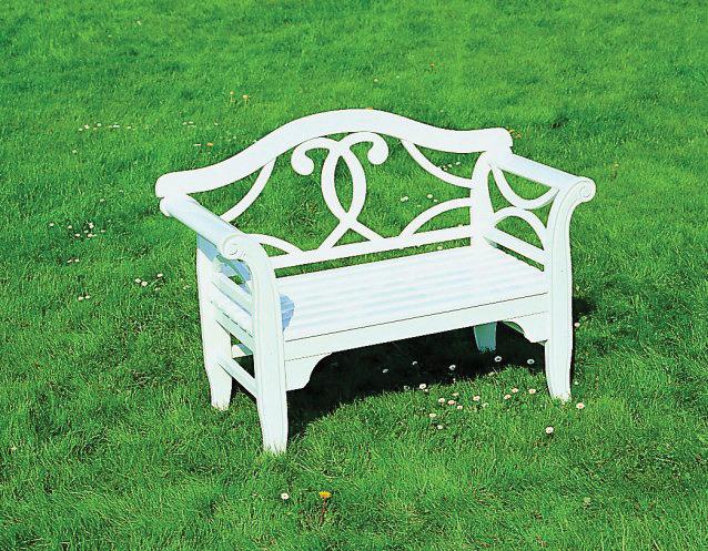 NICOLE Zweisitzer-Bank, Einzelbänke sind Schmuckstücke im Garten
