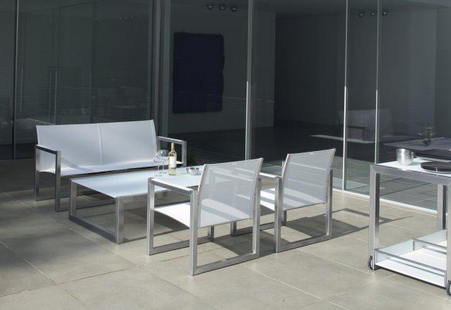 NINIX Gartenbank mit hohem Sitzkomfort und hochwertiger Verarbeitung
