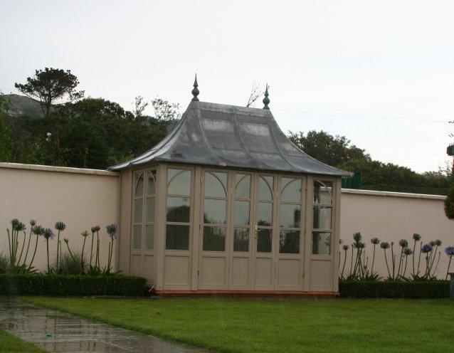 CHELSEA Gartenhaus, (LxB) 3200x1800mm, Farbe Clotted Creme