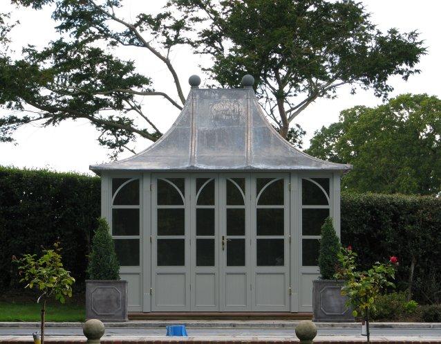 CHELSEA Gartenhaus, (LxB) 3200x1800mm, Farbe Orchestral Steel