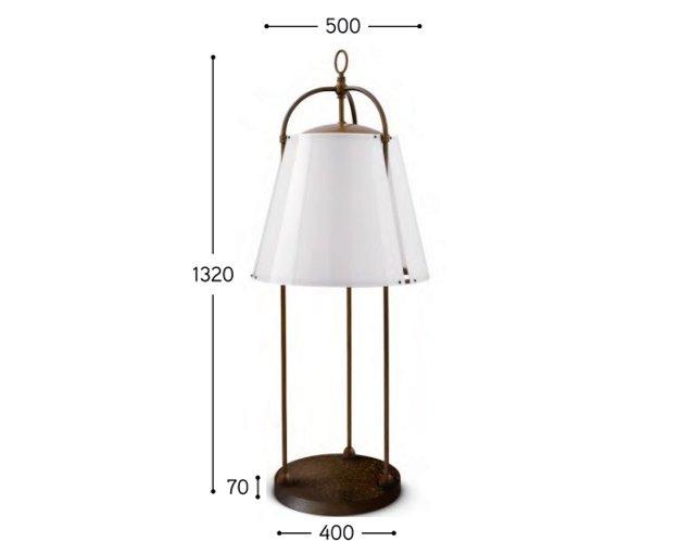 CAPRIFOGLIO ist besonders geeignet für die Beleuchtung von Tischen und Ruhezonen