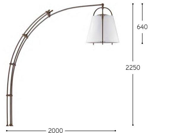 CORBEZZOLO eignet sich für die Beleuchtung von Tischen, Sitzbereichen und Ruhezonen