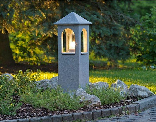DENK Lichthaus Wegeleuchte aus CeraNatur®-Keramik, mit Granicium® beschichtet