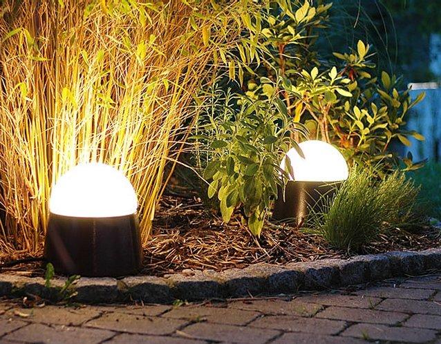 mobile Leuchten LUXOR CeraLava® mit stabilen und blendfreien Opalglaskuppeln