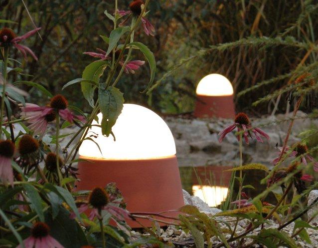 mobile Leuchten LUXOR CeraNatur® mit stabilen und blendfreien Opalglaskuppeln