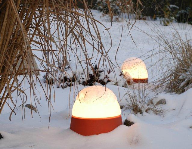 die mobile DENK LUXOR Leuchten sind absolut frostfest