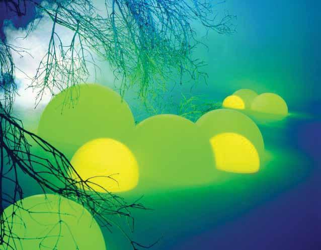 MOONLIGHT Halbkugel-Leuchten HMBGE und HMBG mit Eingrabsockel
