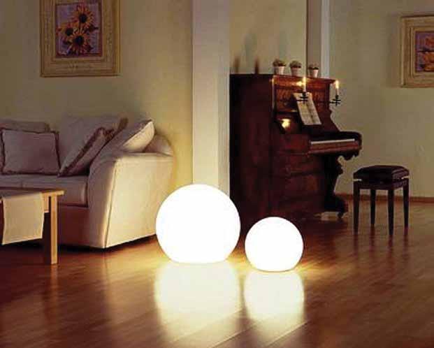 MOONLIGHT Vollkugel-Leuchten MFL 350mm und  MFL 550mm mit 5m Kabel