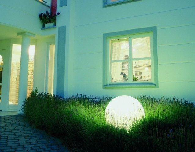 MOONLIGHT Vollkugel-Leuchte MBG 550mm mit Eingrabsockel