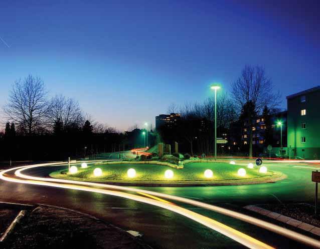MOONLIGHT Vollkugel-Leuchten MBG 550mm mit Eingrabsockel