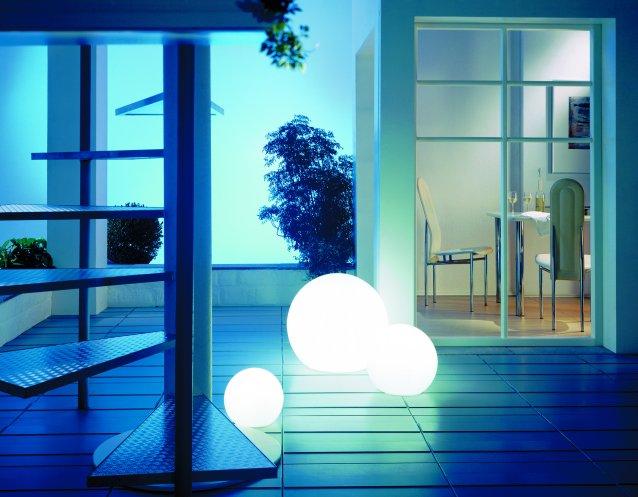 MOONLIGHT Vollkugel-Leuchten MAG 350mm mit Aufschraubsockel