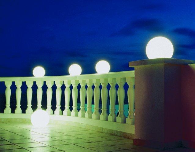 MOONLIGHT Vollkugel-Leuchten MAG 550mm mit Aufschraubsockel