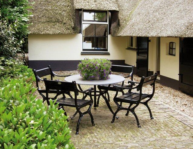Stühle aus Aluminium  Gardeluxe, klassisch  exklusive Gartenmöbel