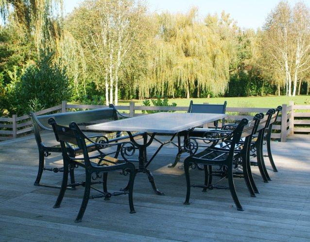 Teakholz Gartenmobel Munchen : Stühle aus Aluminium  Gardeluxe, klassisch  exklusive Gartenmöbel