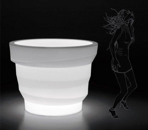 REBELOT Leuchte als Eiswürfelbehälter, 102 cm hoch