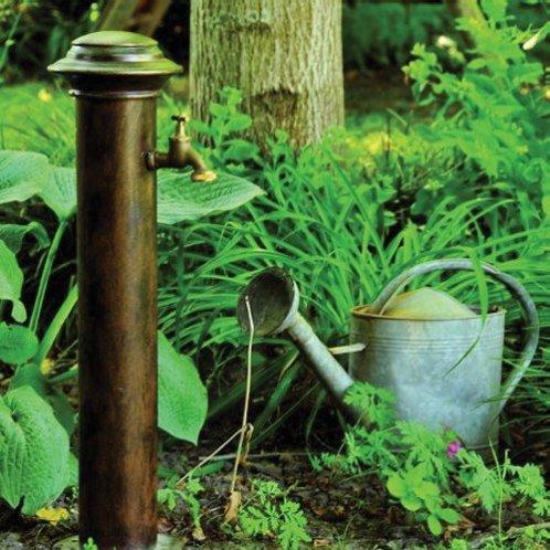 ROBERS Wasserzapfstelle, eine geschmiedete Kostbarkeit mit edler Optik