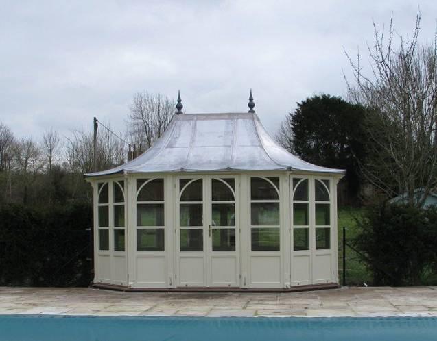 STOW Gartenhaus 5200x3000mm, Farbe Gardenia