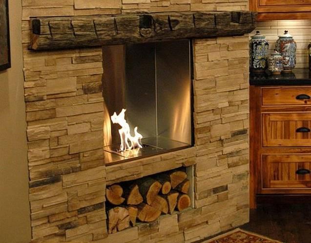 EcoSmart Feuerstelle mit Kamineinsatz 650SS