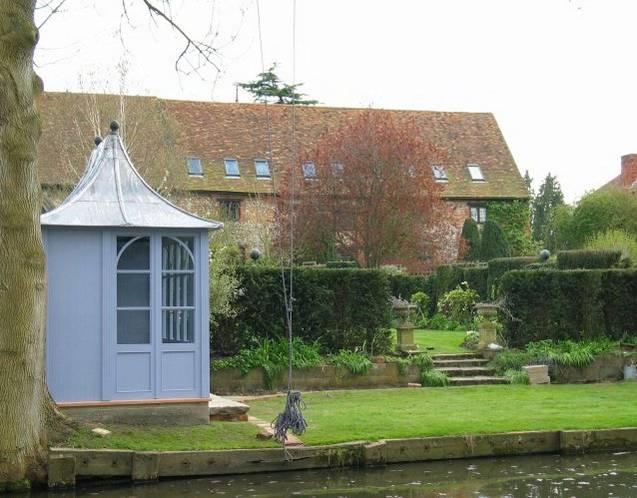 CHELSEA Gartenhaus, (LxB) 3200x1800mm, Seitenansicht