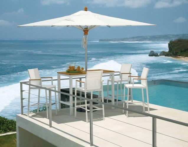 AURA Barstühle, ideal für die Outdoor und Indoor-Bar
